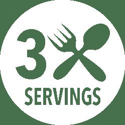 3 Servings