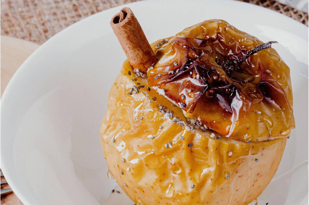 Manzana-asada-con-chia-receta