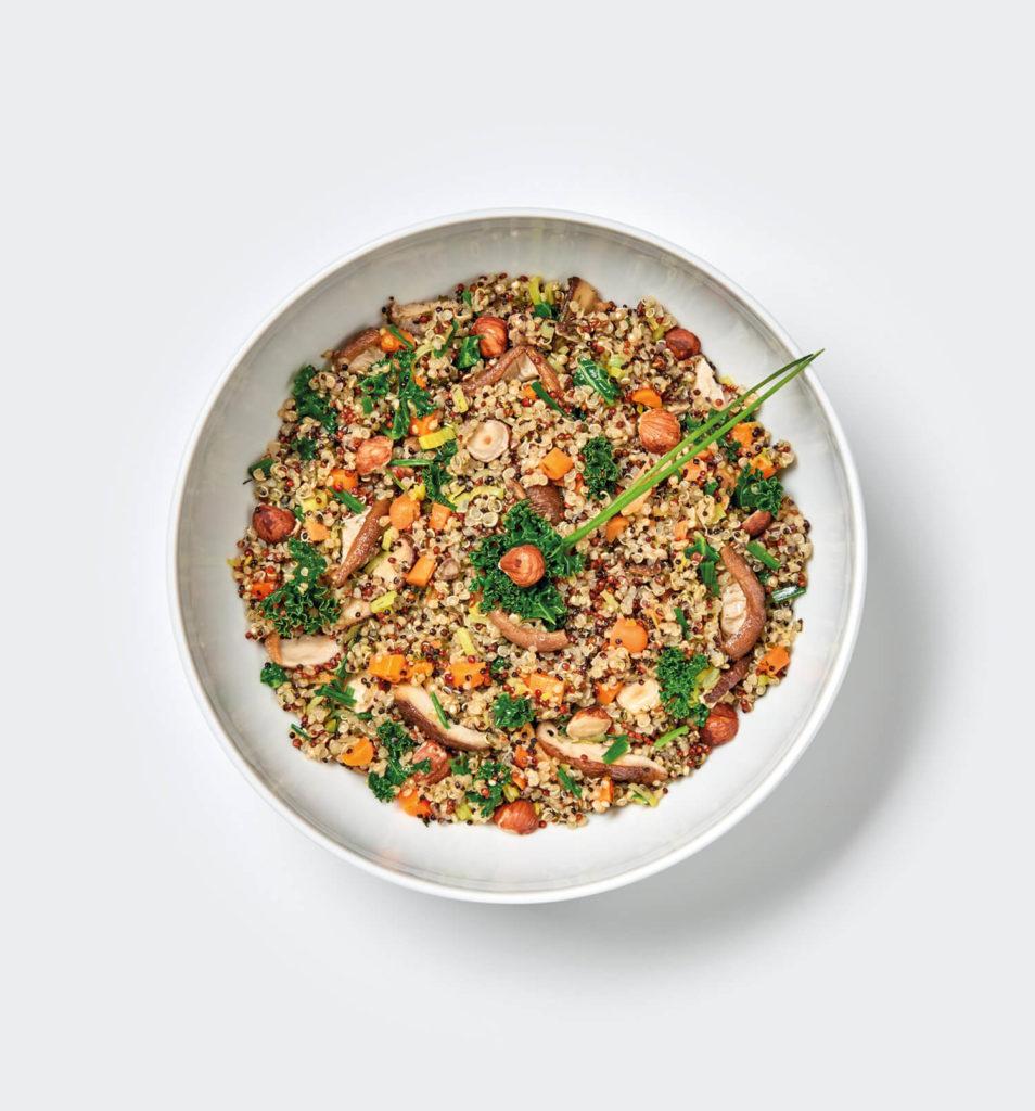 Quinoa Shiitake