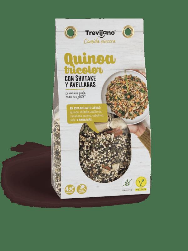 Quinoa Tricolor Con Shiitake Y Avellanas