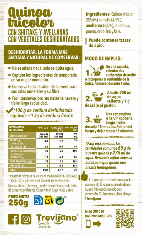 Tr Quinoa Tricolor