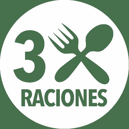 3 Raciones