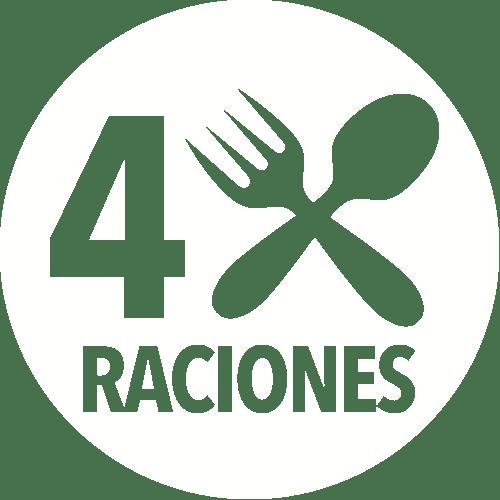 4 Raciones