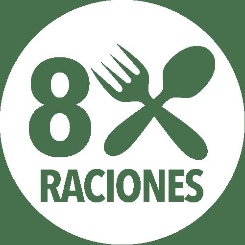 8 Raciones